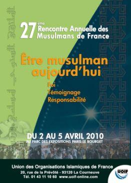 29ème rencontre annuelle des musulmans de france au bourget