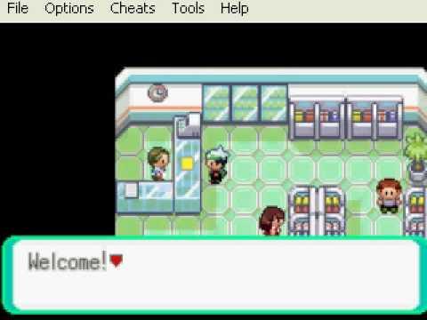 Pokemon Emeraude GBA : Tous les codes Action Replay