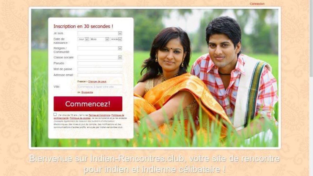site de rencontre pour indiens