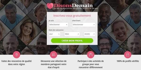 Notre avis sur DisonsDemain | Top 5 sites de rencontres