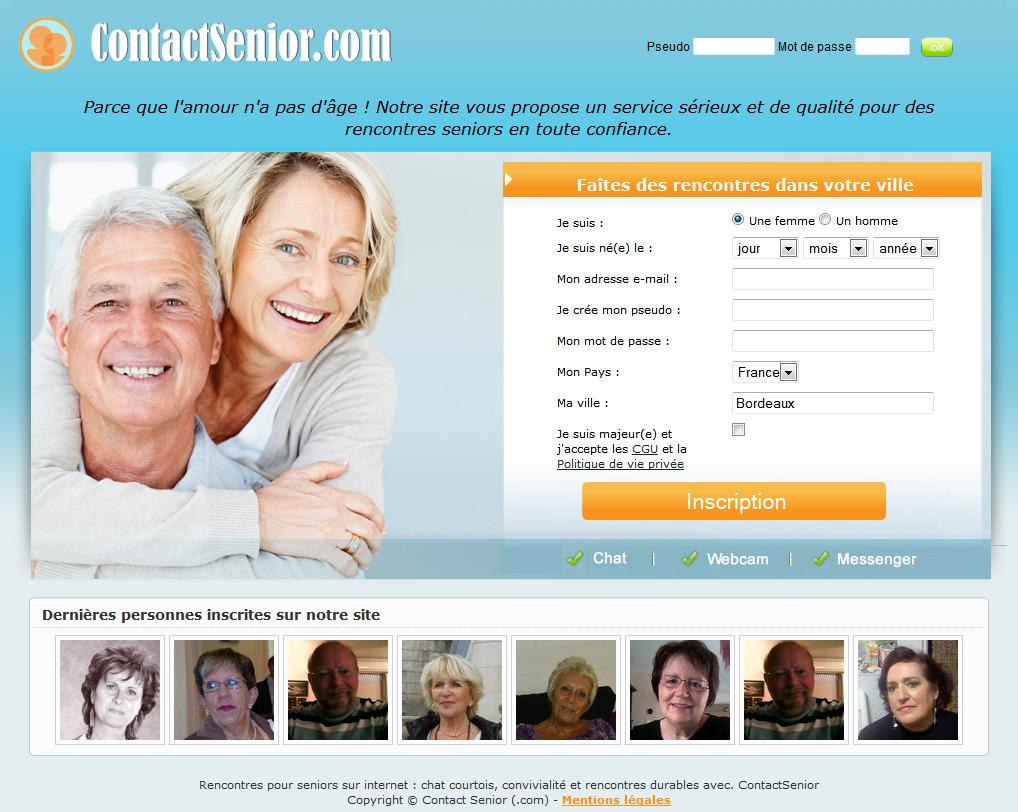 sites rencontre pour seniors rencontre avec joe black download