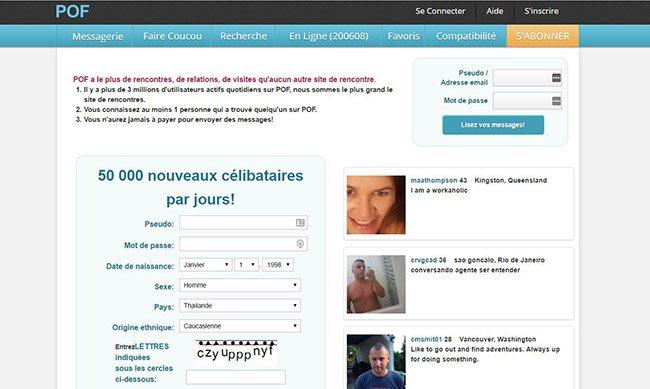POF : Revue du Site de Rencontre
