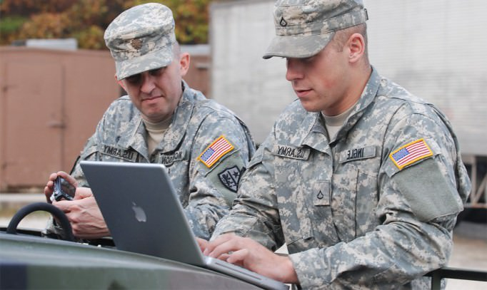 rencontrer un militaire de carrière
