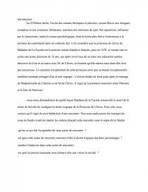 La princesse de Clèves, Madame de La Fayette _ scène de bal - aacs-asso.fr