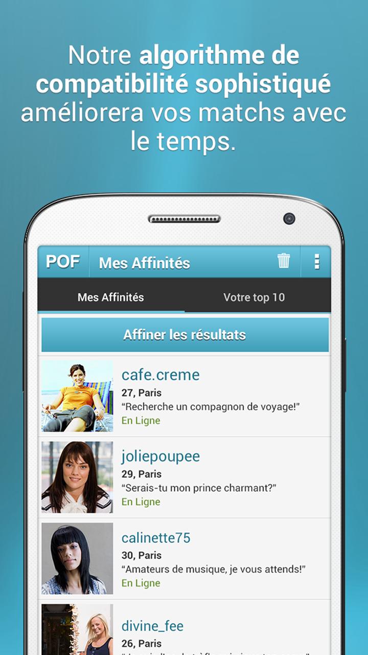 Contacter POF.com, le service de rencontres et conversations en ligne ?