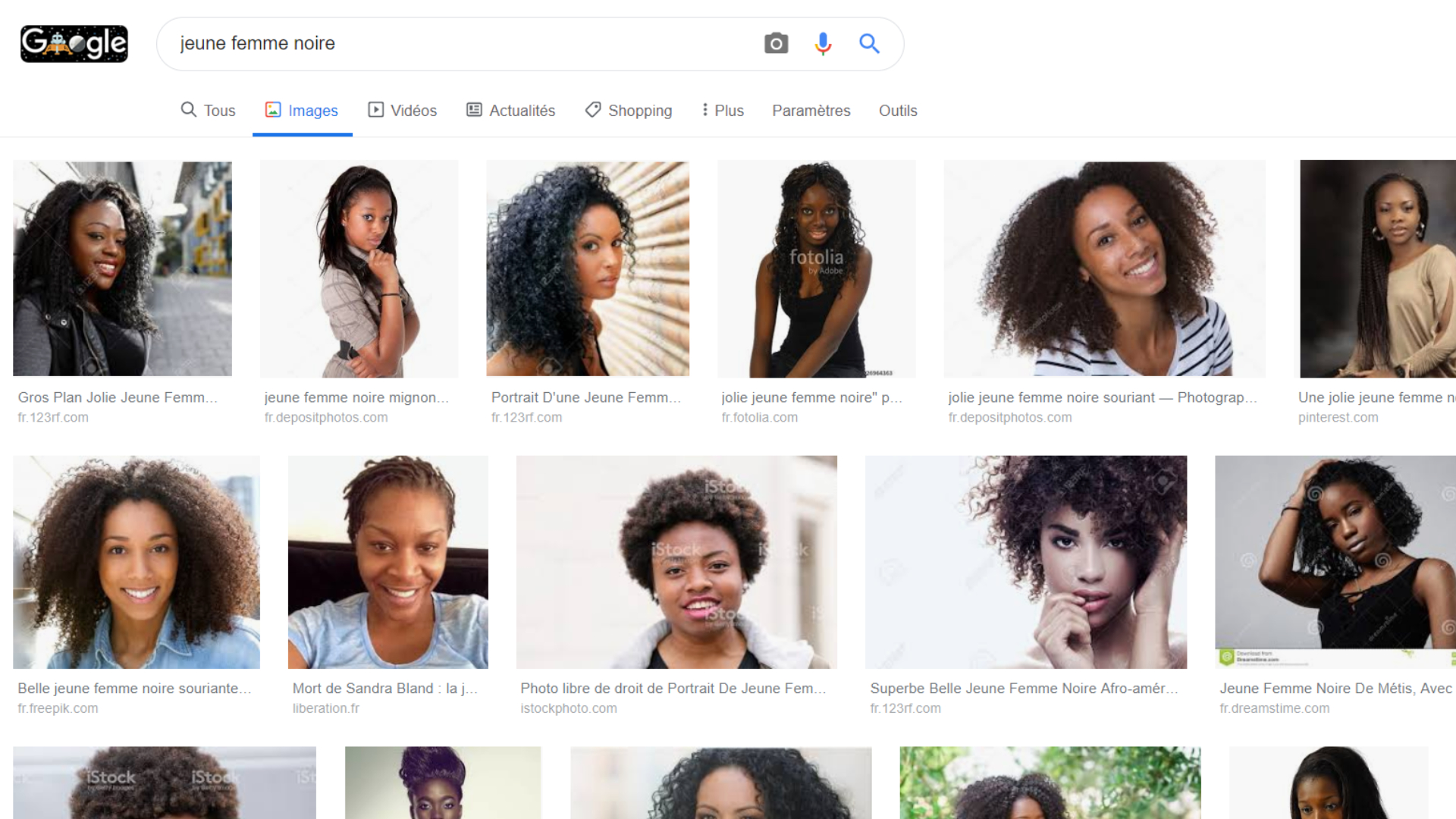 recherche femmes blanches
