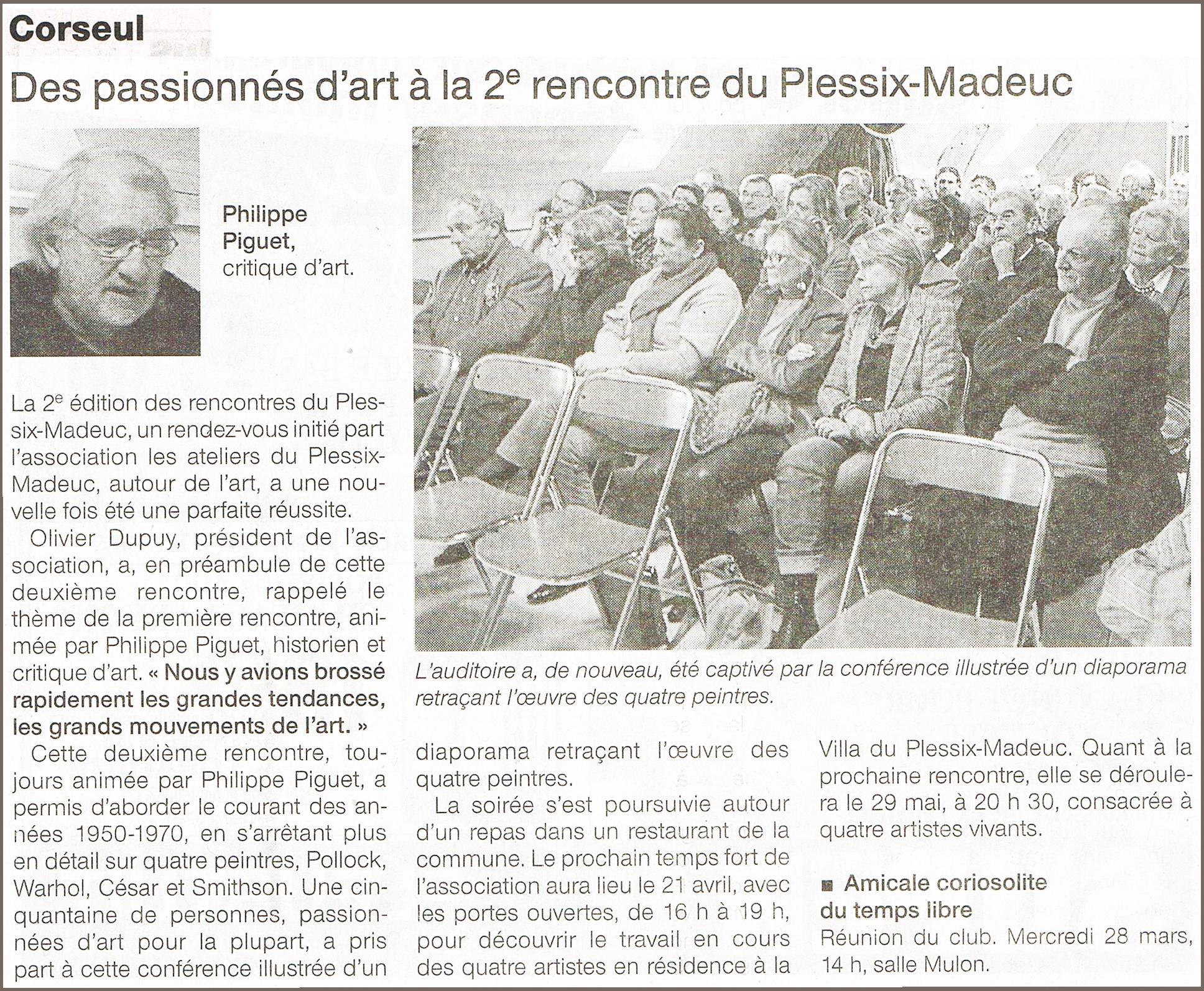Un journaliste de Ouest-France rencontre les secondes C