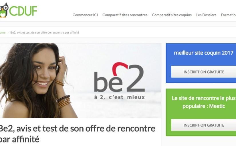 site rencontre b2 belgique