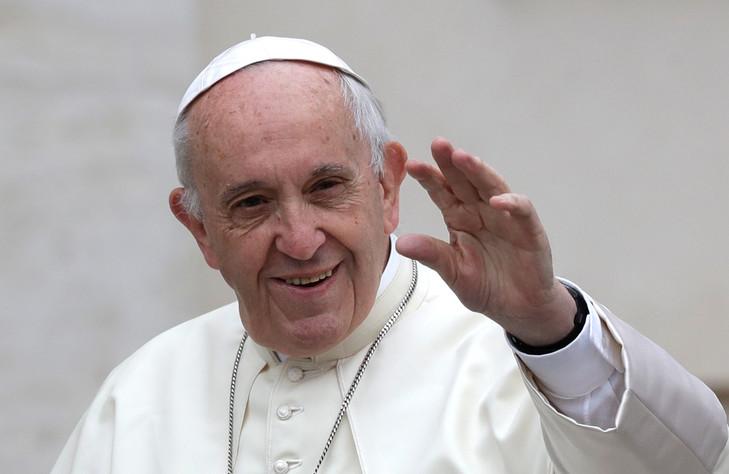 Troisième rencontre entre le pape François et le président russe Vladimir Poutine