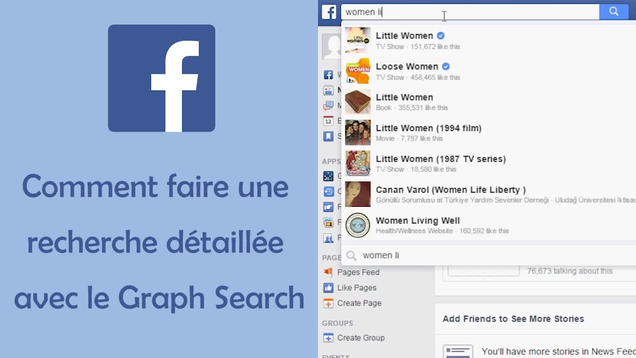 il recherche des filles sur facebook