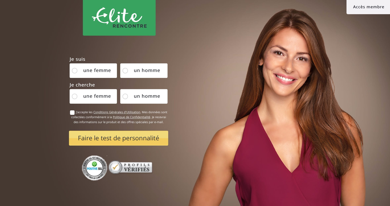 Site de Rencontre Sérieux : la Référence | EliteRencontre