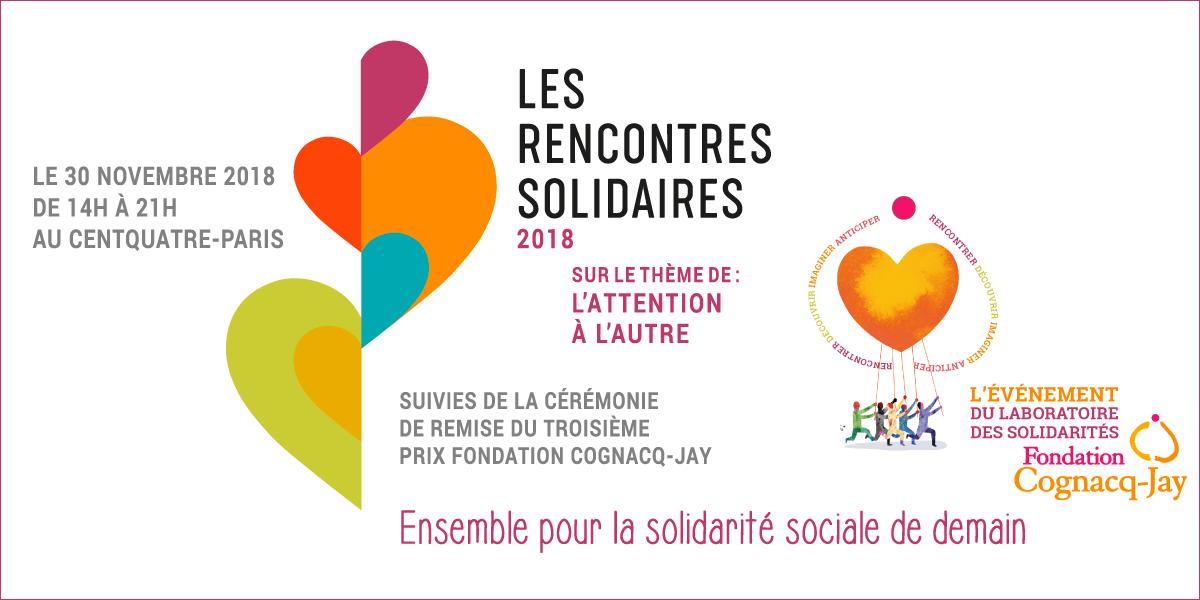 Les Rencontres Solidaires le vendredi 30 novembre