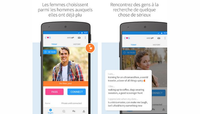 Les meilleures applications de rencontre sur Android et iPhone