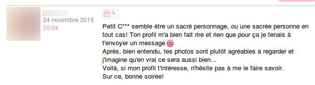 exemple de profil pour site de rencontre je cherche femme senegalaise
