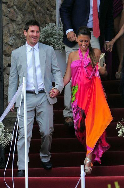 Lionel Messi s'est marié avec son amour de jeunesse