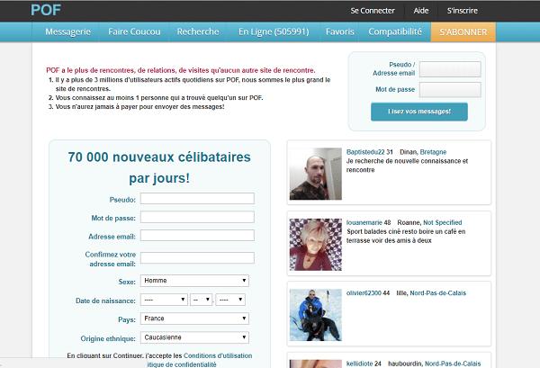 pof.com site de rencontres en ligne gratuit site rencontres pays basque
