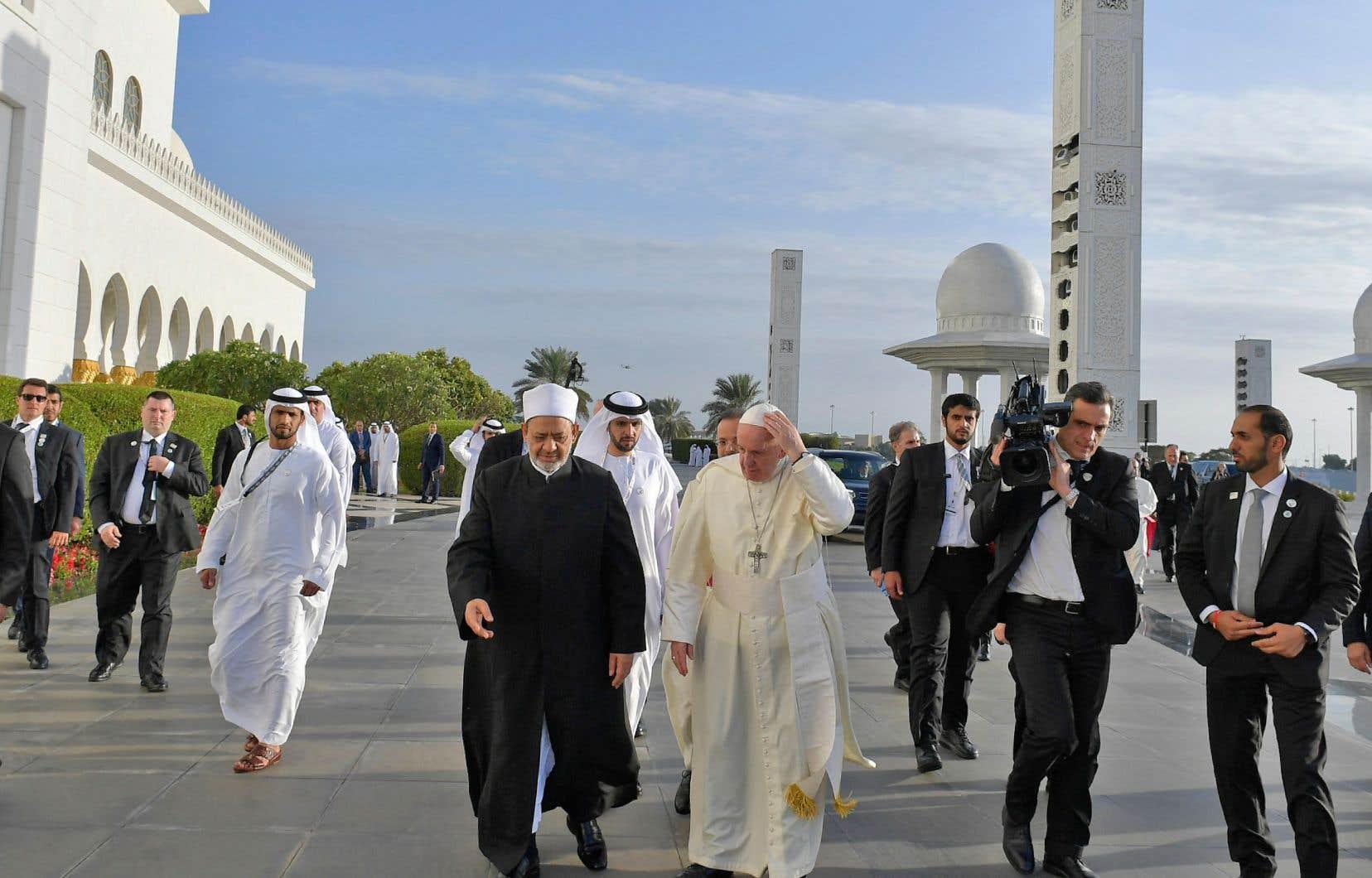 Le pape aux Emirats : rencontre interreligieuse