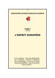 40e Rencontres internationales de Genève - Actualités - UNIGE