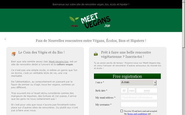 site de rencontre gratuit pour v g tarien