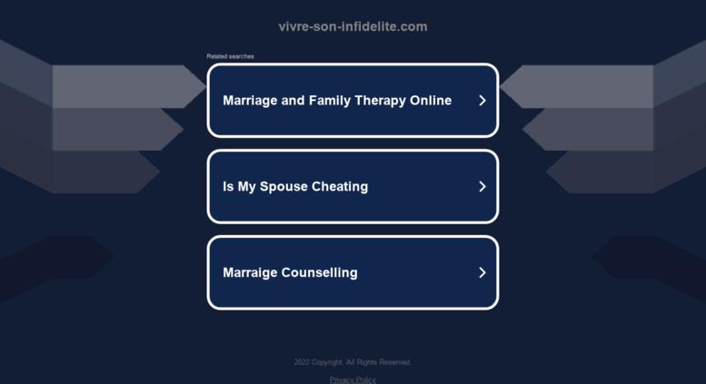 Rencontres pour les personnes mariées ou en couple - GRATUIT et Anonyme - aacs-asso.fr