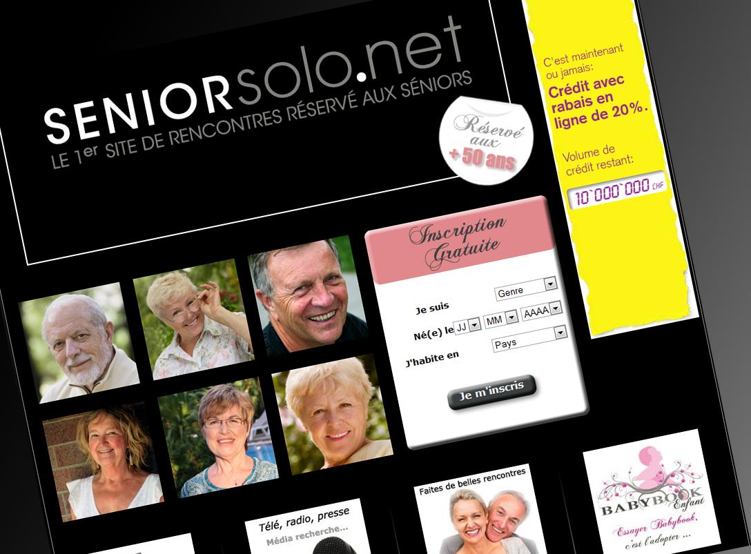Site gratuit de rencontre pour seniors - Site de