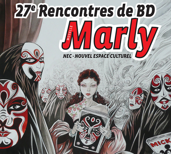 Les 29ème Rencontres de la BD de Marly