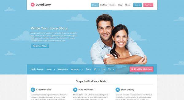 wordpress theme site de rencontre
