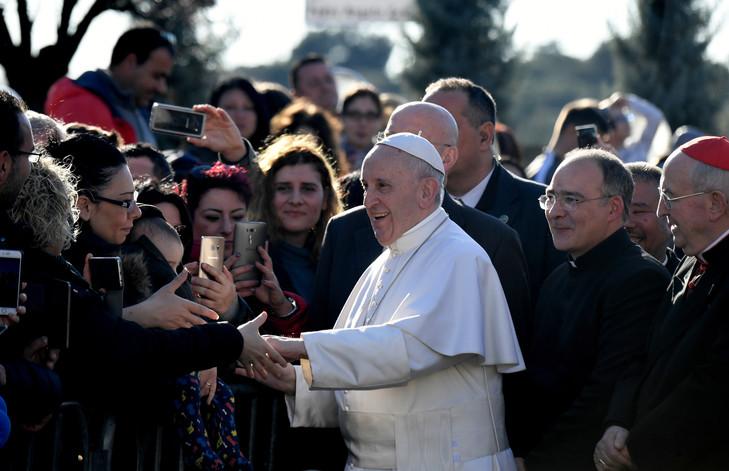 Les servants d'autel en pèlerinage à Rome pour rencontrer le Pape