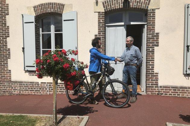 Rencontre avec une famille montoise à vélo